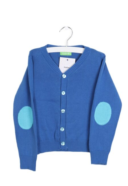 Blauwe gilet, LB, 98