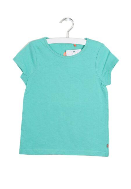Frisgroen t-shirtje, F&G, 110