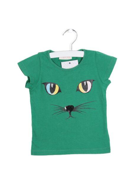 Groen t-shirtje, Simple Kids, 92