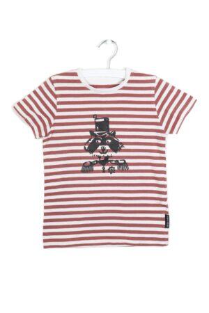 Ecru-bruin t-shirt, F&F, 110