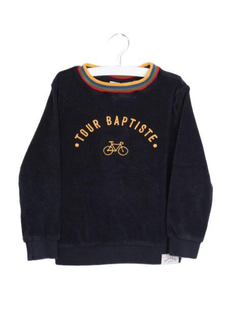Donkerblauwe sweater, JBC, 110