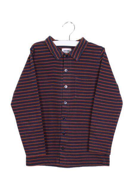 Blauw-roest hemdje, F&F, 122