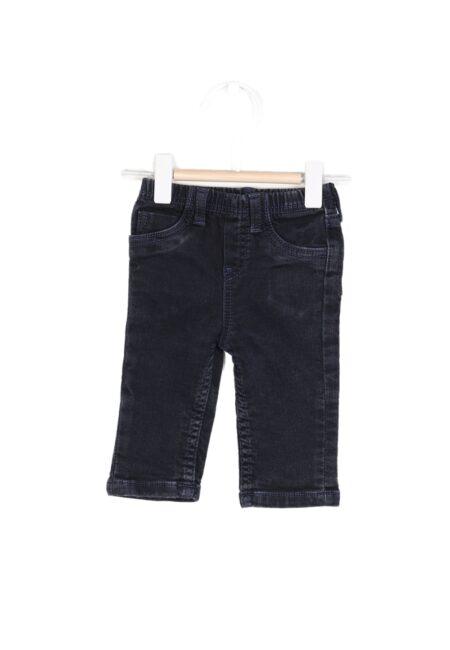 Donkerblauw jeansbroekje, PF, 62