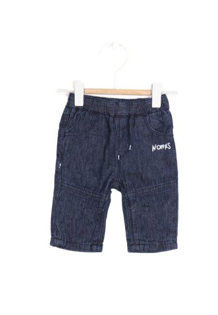 Donkerblauw jeansbroekje, Noppies, 62