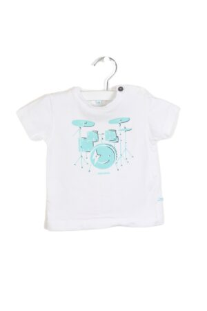 Wit t-shirtje, BBB, 68