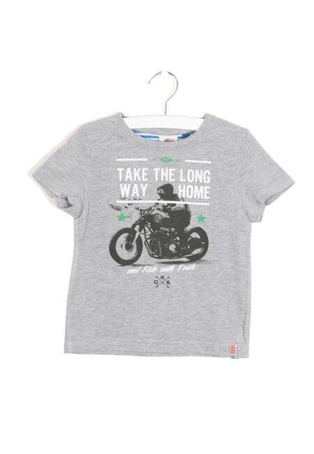 Grijs t-shirtje, CKS, 98