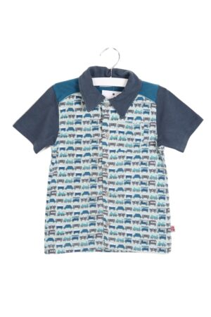 Petrol-munt hemdje, Froy&Dind, 98