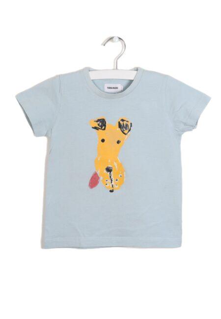 Lichtblauw t-shirtje, F&F, 98