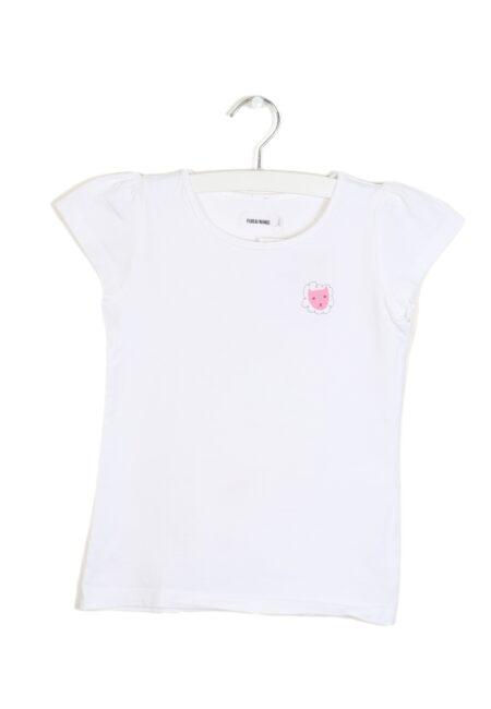 Wit t-shirtje, F&F, 110