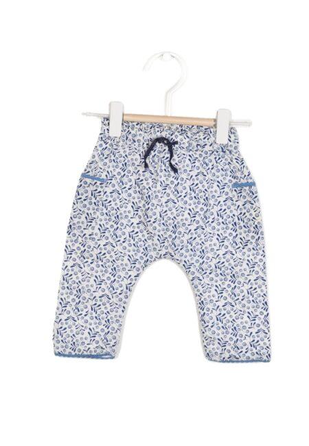 Wit-blauw broekje, Absorba, 68