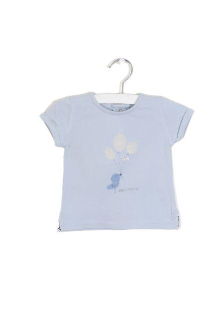 Lichtblauw t-shirtje, Absorba, 68