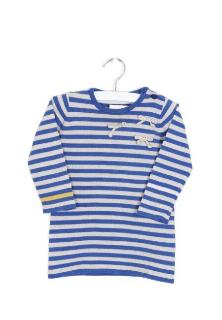 Blauw-gouden kleedje, PF, 80