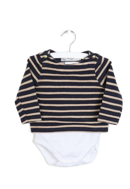 Blauw-gouden sweater, PB, 80
