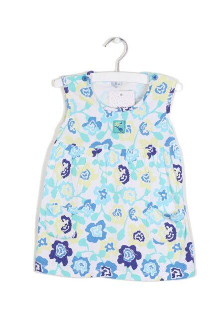 Geel-blauw kleedje, BBB, 86