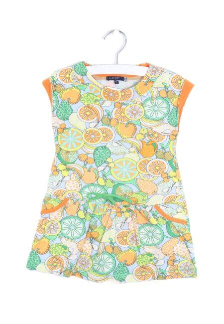 Oranje-blauw kleedje, Gymp, 92