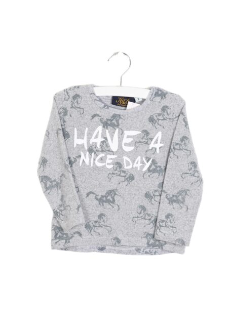 Lichtgrijs sweatertje, KsB, 92