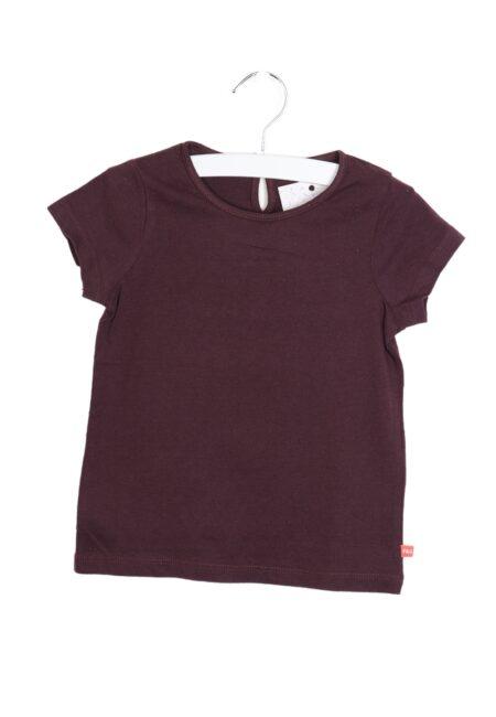 Pruimkleurig t-shirtje, F&G, 98