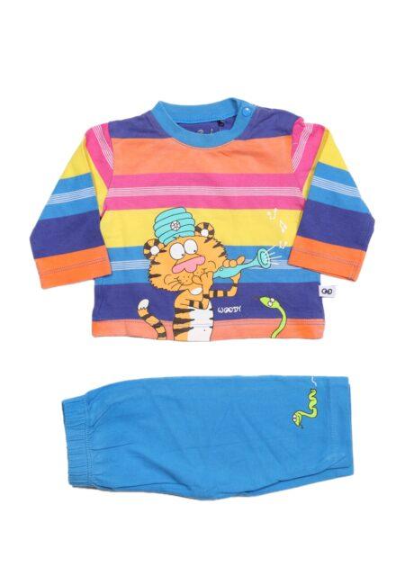 Kleurrijke pyjama, Woody, 56