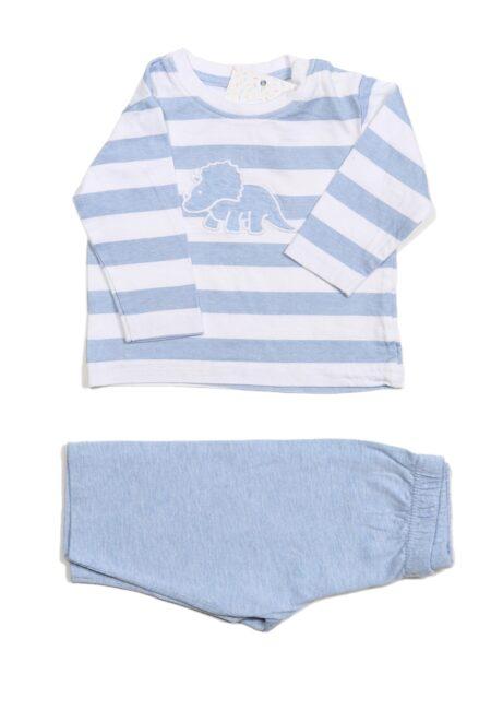 Wit-lichtblauwe pyjama, Buisonniere, 62