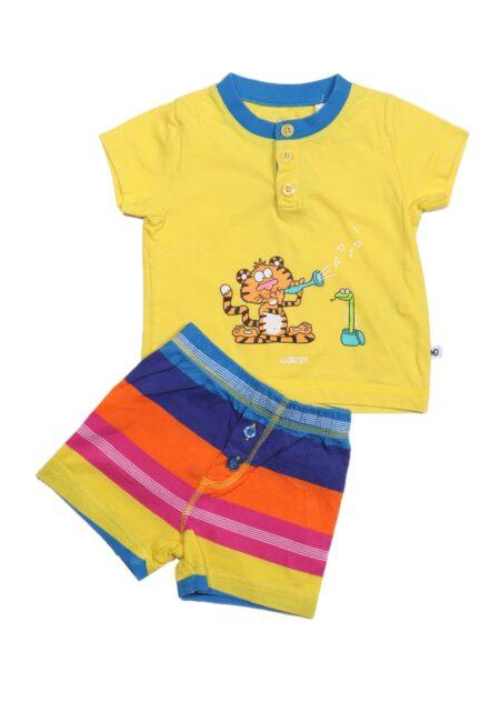 Kleurrijke pyjama, Woody, 68