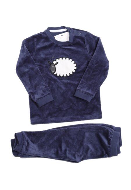 Blauwe pyjama, JBC, 80