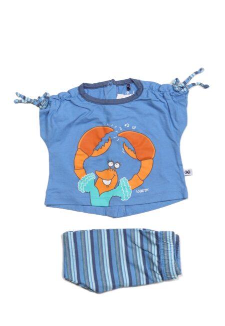 Blauw pyjamaatje, Woody, 62