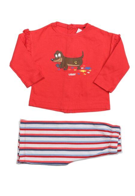 Rood pyjamaatje, Woody, 68