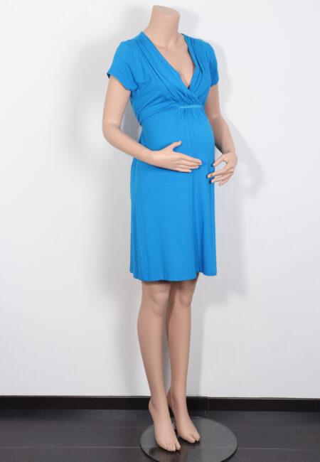 Hoogblauw kleedje, Queen Mum, L
