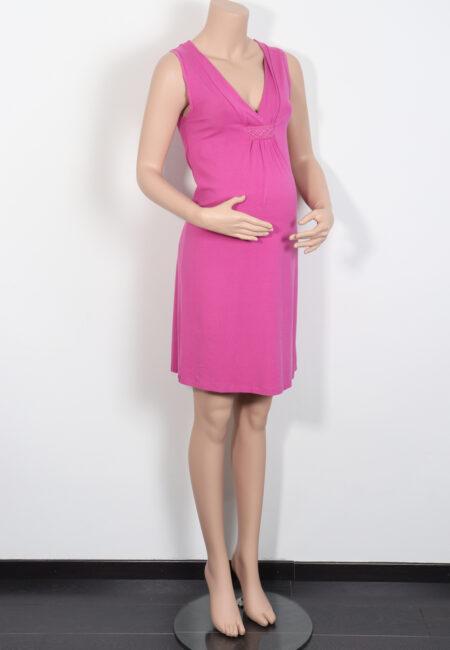 Fuchsia kleedje, Queen Mum, M