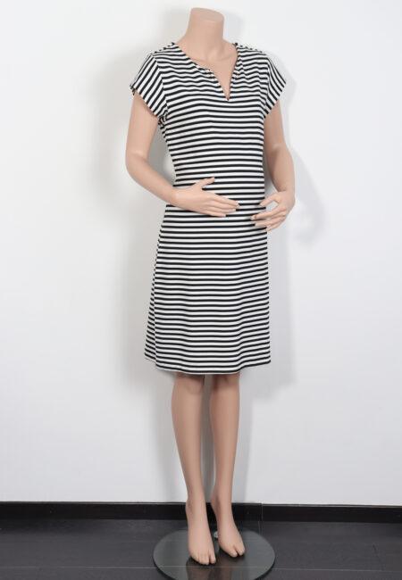 Wit-zwart kleedje, L2W, M