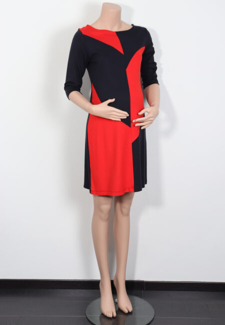 Rood-blauw kleedje, Fragile, M