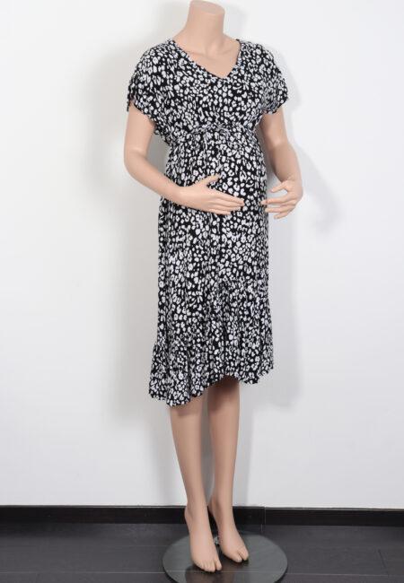 Zwart-wit kleedje, Supermom, S