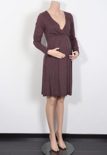 Zwart-roze kleedje, Queen Mum, S