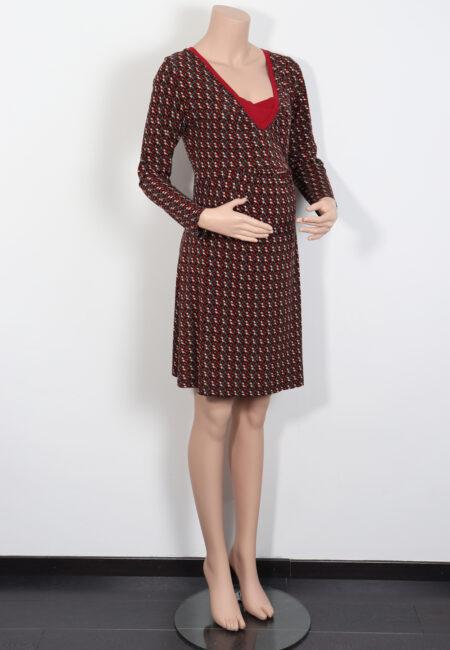 Rood-grijs kleedje, Bliss, S