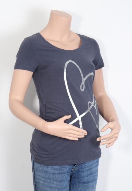 Grijze t-shirt, Mamalicious, S