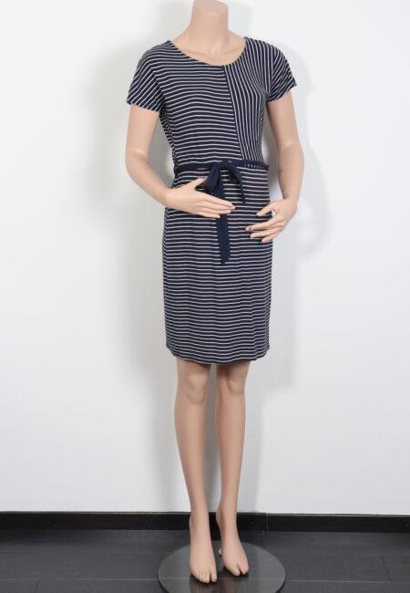 Blauw-wit kleedje, Noppies, XS