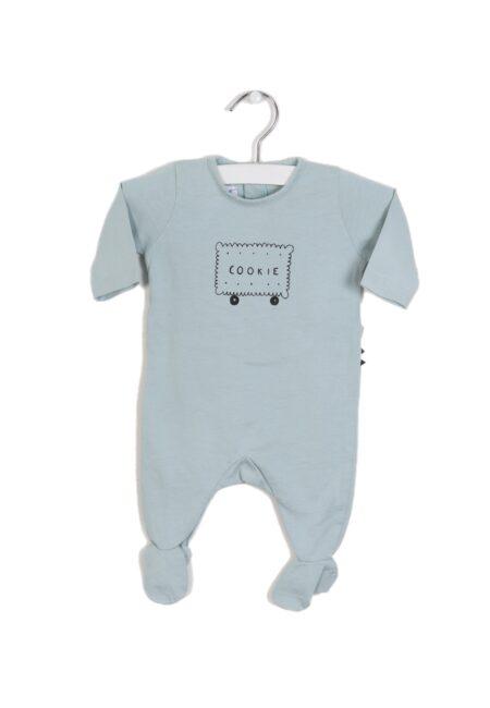 Lichtblauw pyjamaatje, PF, 50