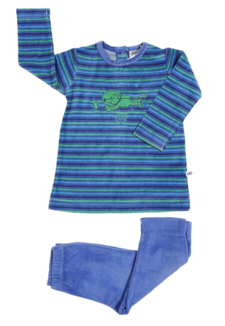 Blauw-groene pyjama, Woody, 74