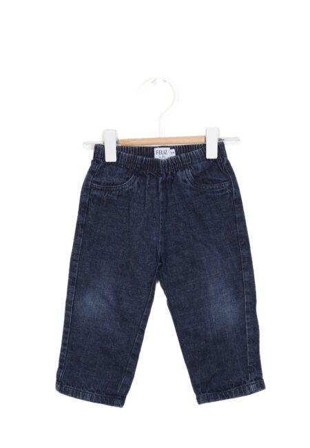 Blauw jeansbroekje, FbF, 80
