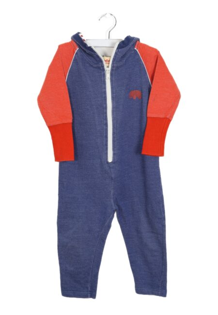 Blauw-rode playsuit, AlbaBaby, 86