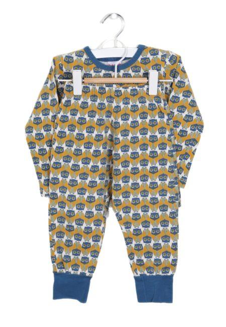 Blauw-oker pyjama, Ba*Ba, 86