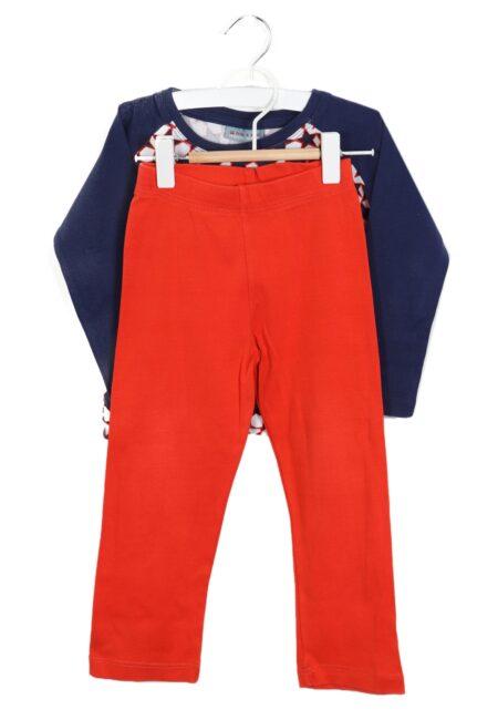 Blauw-rode pyjama, Froy & Dind, 86