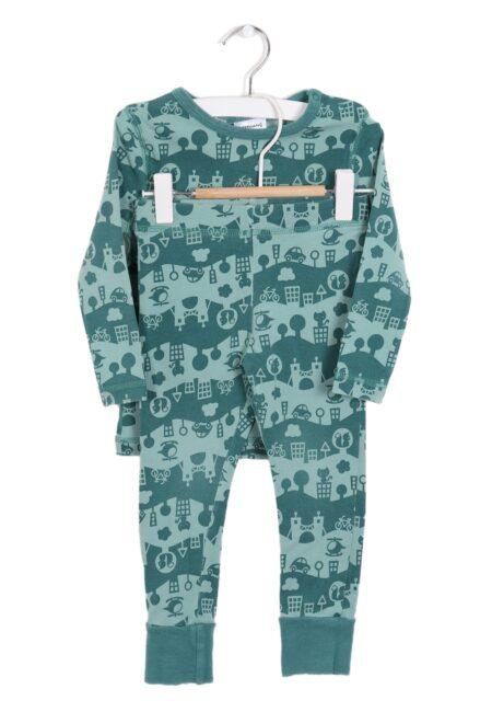 Groene pyjama, Maxomorra, 86