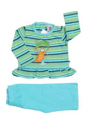 Groen-turquoise pyjama, Woody, 56