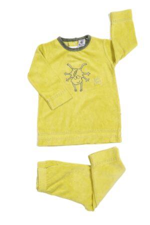 Groen-gele pyjama, Woody, 68