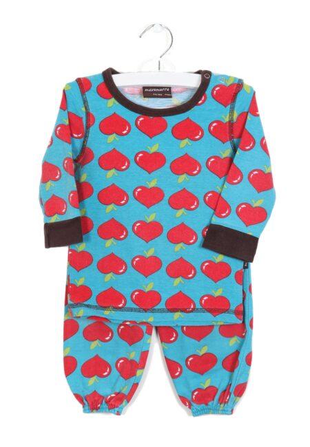 Turquoise-rood pyjamaatje, Maxomorra, 74