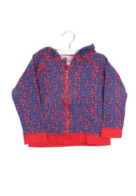 Blauw-rode hoodiegilet, Ba*Ba, 98