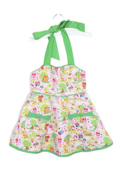 Groen-roos kleedje, Selfmade, 98