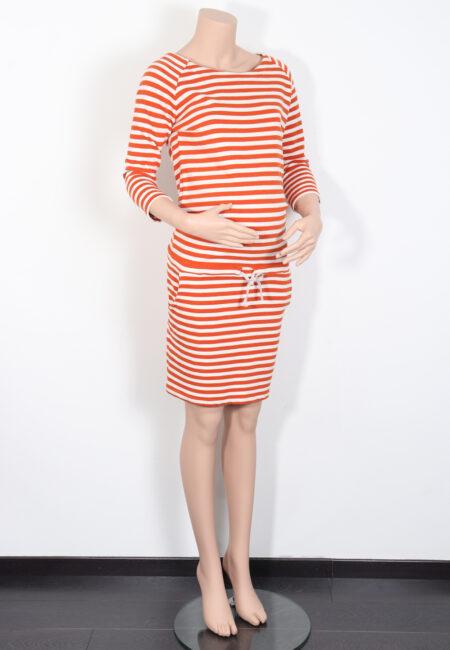 Oranje-ecru kleedje, Fragile, M