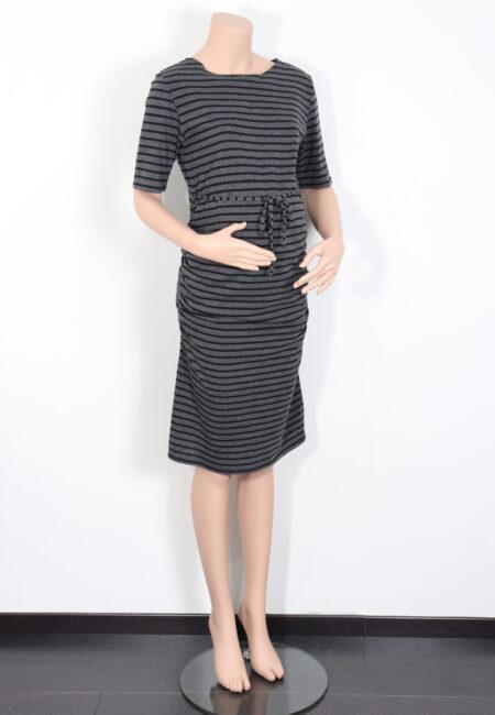 Grijs-zwart kleedje, Noppies, M